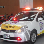 McFall Fuel donate Rapid Response Vehicle