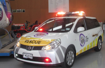 McFall Fuel donate Rapid Response Vehicle