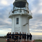 PNBHS RUNNING FROM CAPE REINGA