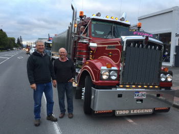 NORTH ISLAND TRUCK RUN